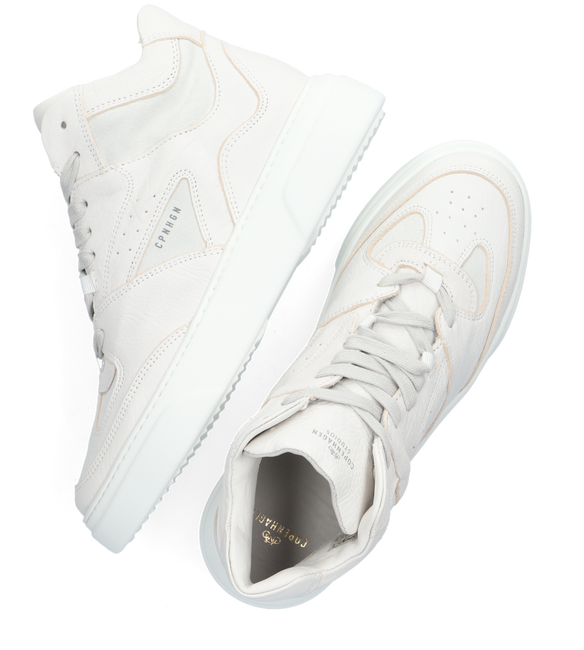 Weiße COPENHAGEN STUDIOS Sneaker low CPH131  - large