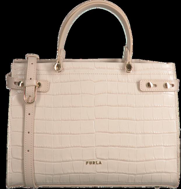 Beige FURLA Handtasche LADY M M TOTE  - large