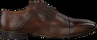 Cognacfarbene MAZZELTOV Business Schuhe 3817  - medium