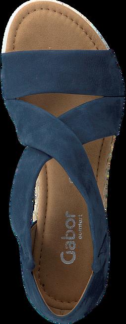 Blaue GABOR Sandalen 711.1 - large