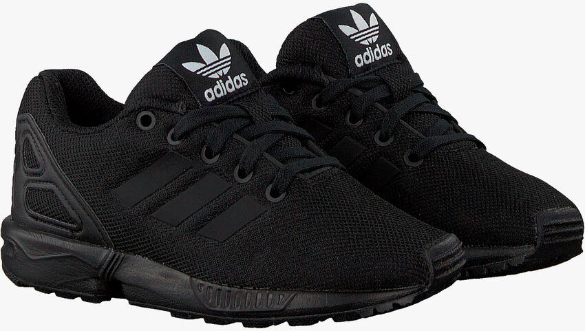 Schwarze ADIDAS Sneaker ZX FLUX KIDS - larger