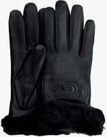 Schwarze UGG Handschuhe CLASSIC LOGO GLOVE  - medium