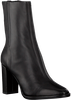 Schwarze LOLA CRUZ Stiefeletten 040T14BK  - small