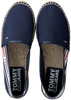 Blaue TOMMY HILFIGER Espadrilles CHUNKY TAPE  - small
