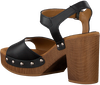 Schwarze UNISA Sandalen TACO  - small