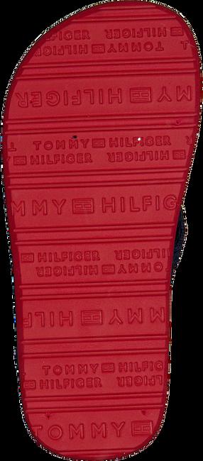 Rote TOMMY HILFIGER Pantolette VARSITY PRINT FLIP FLOP  - large