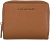Cognacfarbene MICHAEL KORS Portemonnaie MD ZA SNAP WALLET  - small