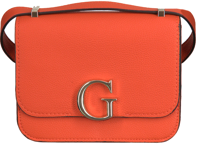 Orangene GUESS Umhängetasche CORILY CONVERTIBLE XBODY FLAP  - large