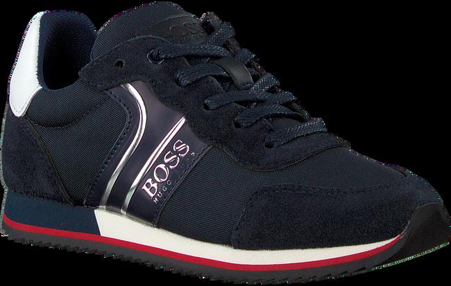 Blaue BOSS KIDS Sneaker low BASKETS  - large