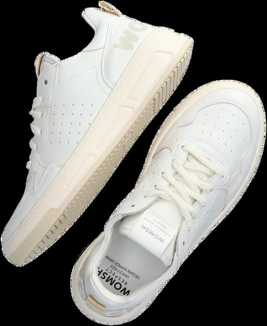 Weiße WOMSH Sneaker low VEGAN HYPER  - large