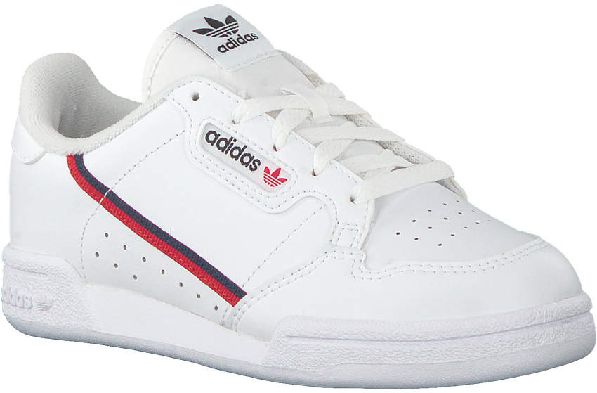 Weiße ADIDAS Sneaker CONTINENTAL 80 C  - larger