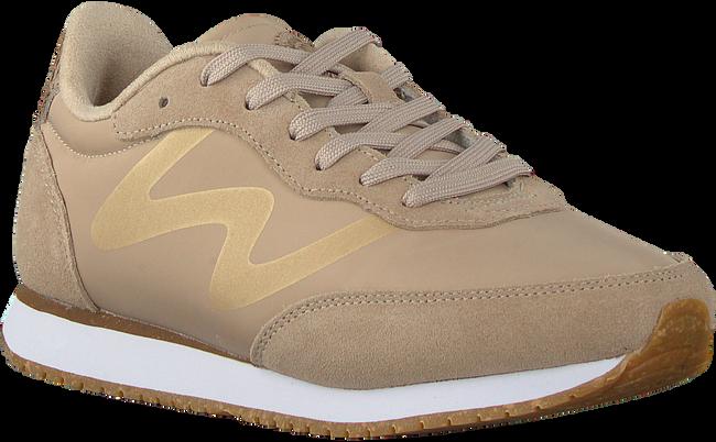 Beige WODEN Sneaker low OLIVIA METALLIC  - large