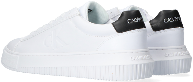 Weiße CALVIN KLEIN Sneaker low CHUNKY SOLE SNEAKER LACEUP  - large