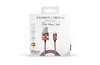 Rote IDEAL OF SWEDEN Ladekabel FASHION CABLE 1M - small