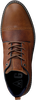 Cognacfarbene GAASTRA Schnürschuhe CELO MID  - small