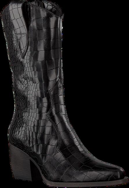 Schwarze VERTON Hohe Stiefel 687-007  - large