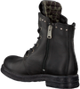 Schwarze REPLAY Biker Boots RL260059L SKIN - small