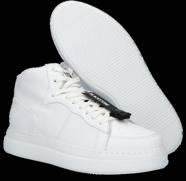 Weiße BLACKSTONE Sneaker high VL79  - large