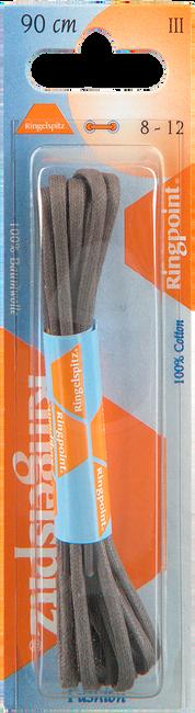 Graue RINGPOINT Schnürsenkel VETER ROND 90 CM  - large