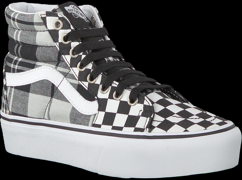 Schwarze VANS Sneaker UA SK8 HI PLATFORM 2.0