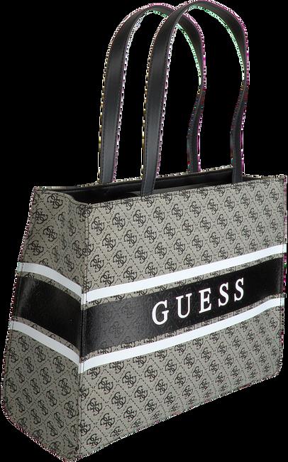 Graue GUESS Handtasche MONIQUE TOTE  - large
