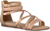 Goldfarbene BULLBOXER Sandalen AED031 - small
