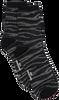 Schwarze BECKSONDERGAARD Socken ZEBRA GLITZI SOCK  - small
