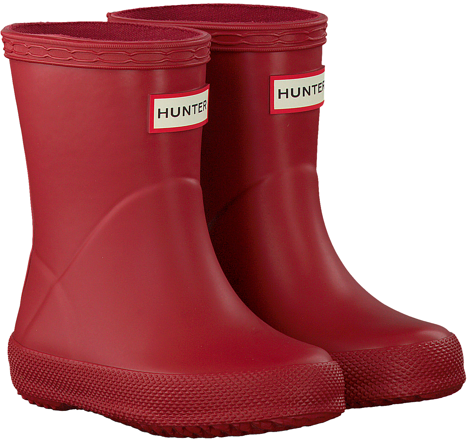 hot sales bba9b 3b8a3 Rote HUNTER Gummistiefel KIDS FIRST CLASSIC