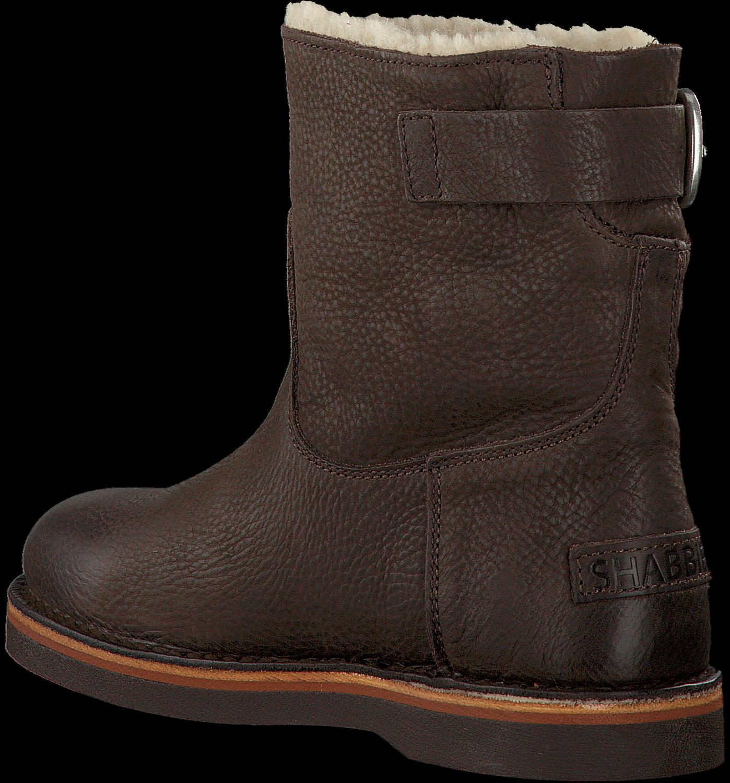 braune shabbies ankle boots 181020054 jetzt im sale. Black Bedroom Furniture Sets. Home Design Ideas
