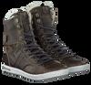 Graue BJORN BORG Ankle Boots ADRIAN HIGH KIDS - small