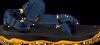 Blaue TEVA Sandalen 1019390 C/T/Y HURRICANE XLT 2  - small