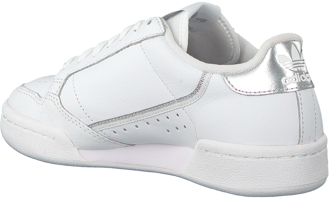 Weiße ADIDAS Sneaker CONTINENTAL 80 W  - large