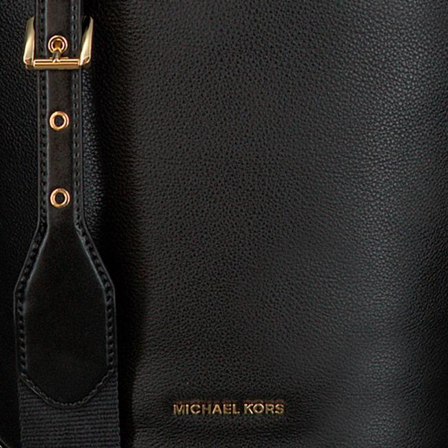 Schwarze MICHAEL KORS Handtasche BROOKE MD BUCKET MESSENGER  - large