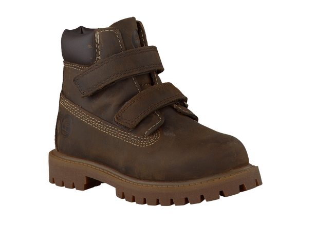 Braune TIMBERLAND Ankle Boots 6'INCH HOOK AND LOOP BOOT - large