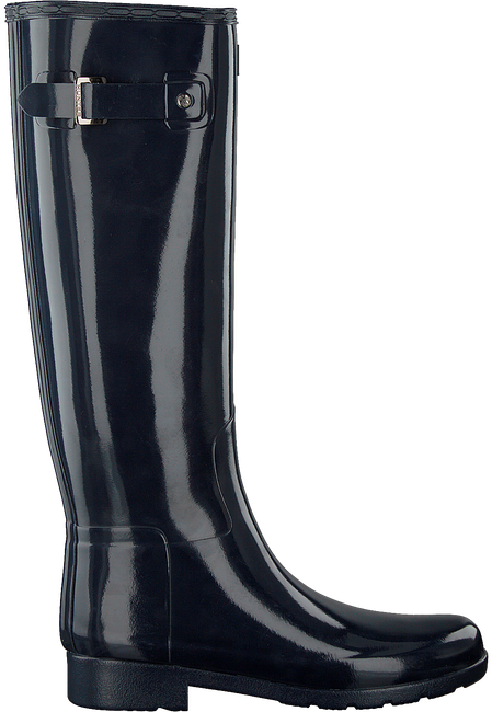 Blaue HUNTER Gummistiefel ORIGINAL REFINED GLOSS - large