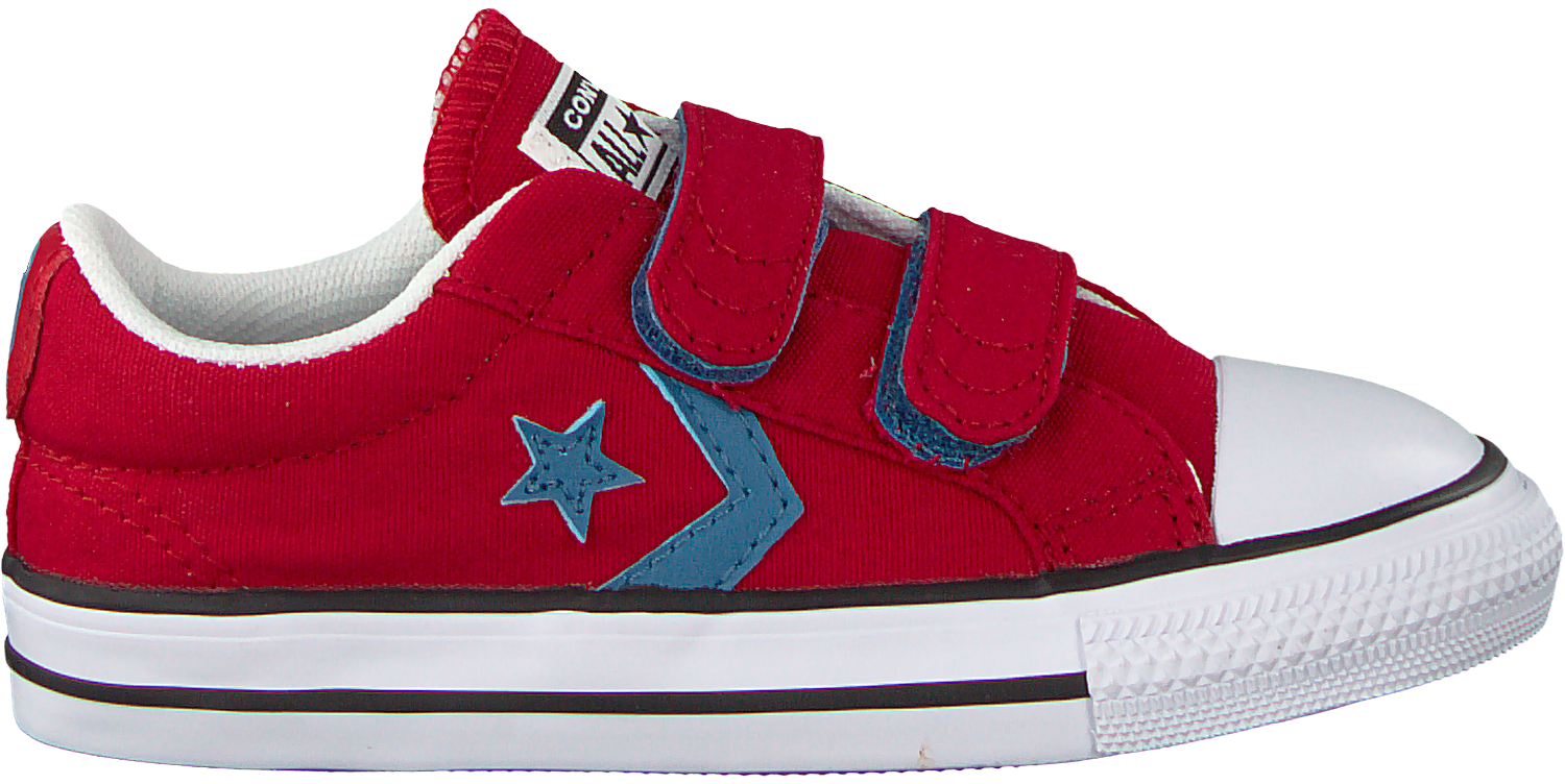 Rote Converse Sneaker Star Player 2v Ox Kids