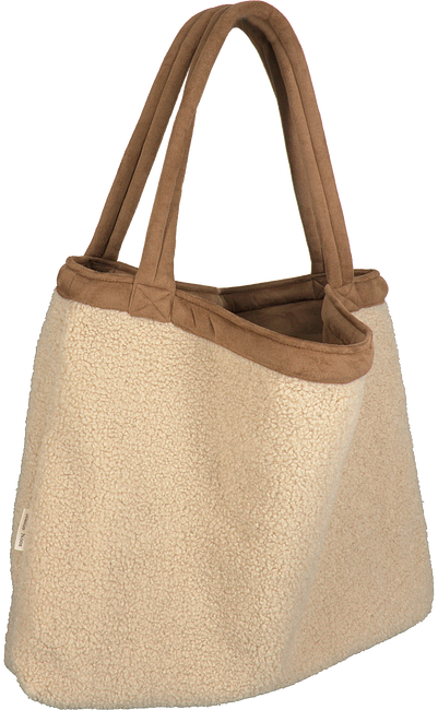 Beige STUDIO NOOS Shopper TEDDY LAMMY MOM-BAG  - large