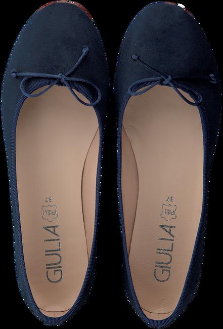 Blaue GIULIA Ballerinas G.12.BALLERINA  - large