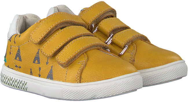 Gelbe BUNNIES JR Sneaker LAURENS LOUW  - large