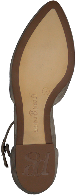 Taupe PAUL GREEN Ballerinas 1657 - large
