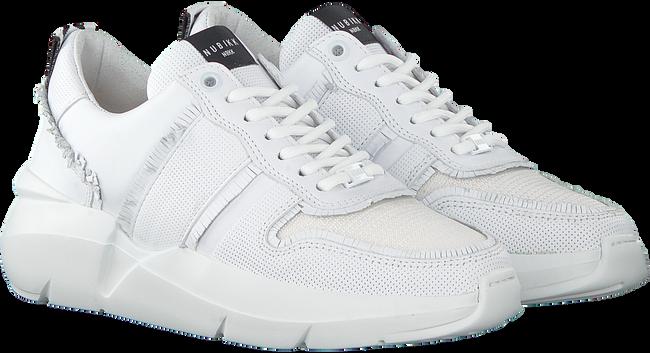 Weiße NUBIKK Sneaker LUCY FRINGE  - large