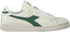 Weiße DIADORA HERITAGE Sneaker low GAME L LOW WAXED  - small