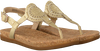 gold UGG shoe AYDEN II METALLIC  - small