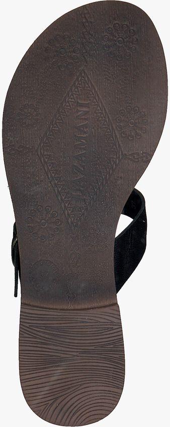Schwarze LAZAMANI Pantolette 75.608  - larger