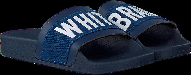 Blaue THE WHITE BRAND Pantolette ELASTIC MINIMAL KIDS - large
