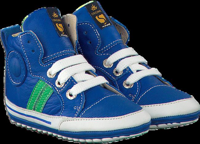 Blaue SHOESME Babyschuhe BP7W002 - large