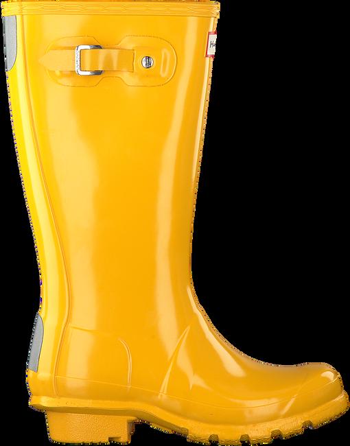 Gelbe HUNTER Gummistiefel ORIGINAL KIDS GLOSS - large