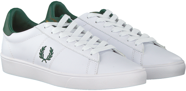 Weiße FRED PERRY Sneaker low B8250  - large