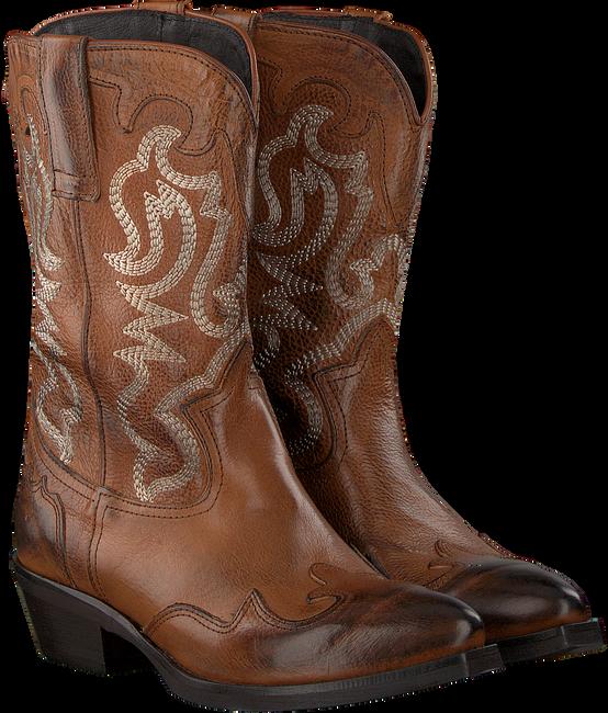 Cognacfarbene OMODA Cowboystiefel TEX503 - large