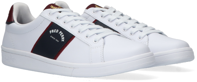 Weiße FRED PERRY Sneaker low B1254  - large